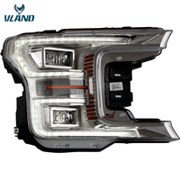 VLAND Factory Full LED Headlight assembly Fit for F150 2017 2018 2019 LED Head Light / Front Lamp With Sequential Indicator
