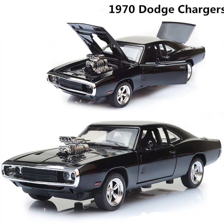 1:32 Alloy 1970 Dodge Chargers R/T Fast and Furious 7 Kids ...