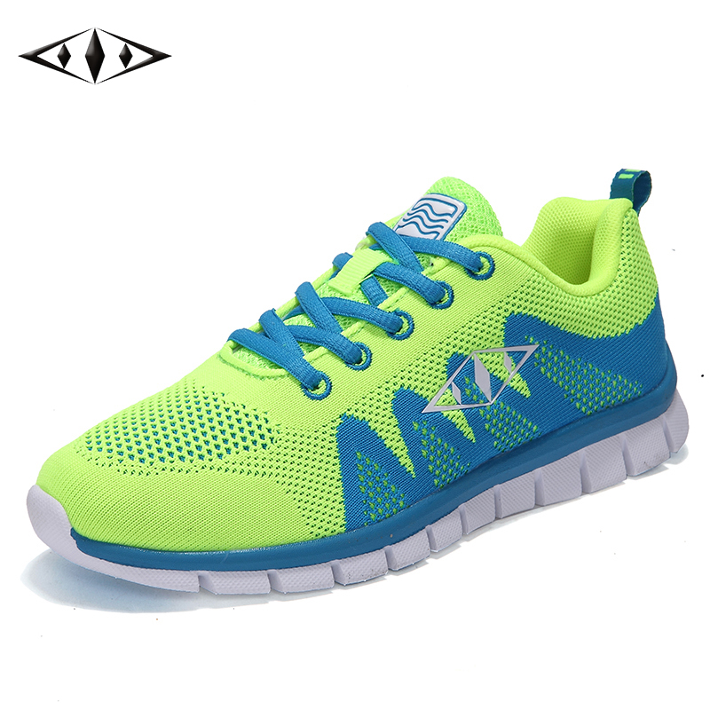 2016 LEMAI Cool Concise Design Women Sneakers Autumn Outdoor Breathable Air Mesh Running Shoes For Female Sport Tennis fb010-1