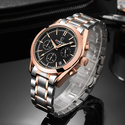 CHENXI Stainless Steel Wrist Watch Men Watches Top Brand Luxury Quartz Wristwatch For Male Clock Hours Hodinky Relogio Masculino new stainless steel wristwatch quartz watch men top brand luxury famous wrist watch male clock for men hodinky relogio masculino