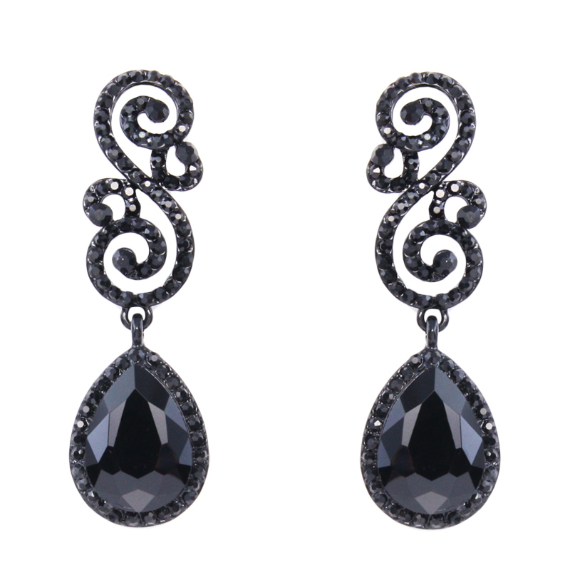 black earrings for womens 24 excellent black earrings playzoa 7282