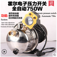 750W Stainless 220V household automatic self priming jet pump