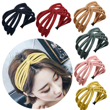 Women Girls Hair Head Hoop Bands Accessories For Women Headdress Hairbands Headwear Summer Korean Fashion Wide Hairband Scrunchy платье incity incity mp002xw0fsqm
