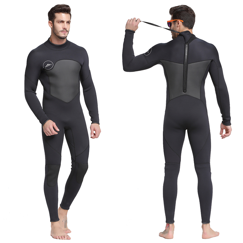 SBART 2019 Siamese long sleeve 1 5mm diving suit jellyfish suit professional snorkeling suit warm sunscreen
