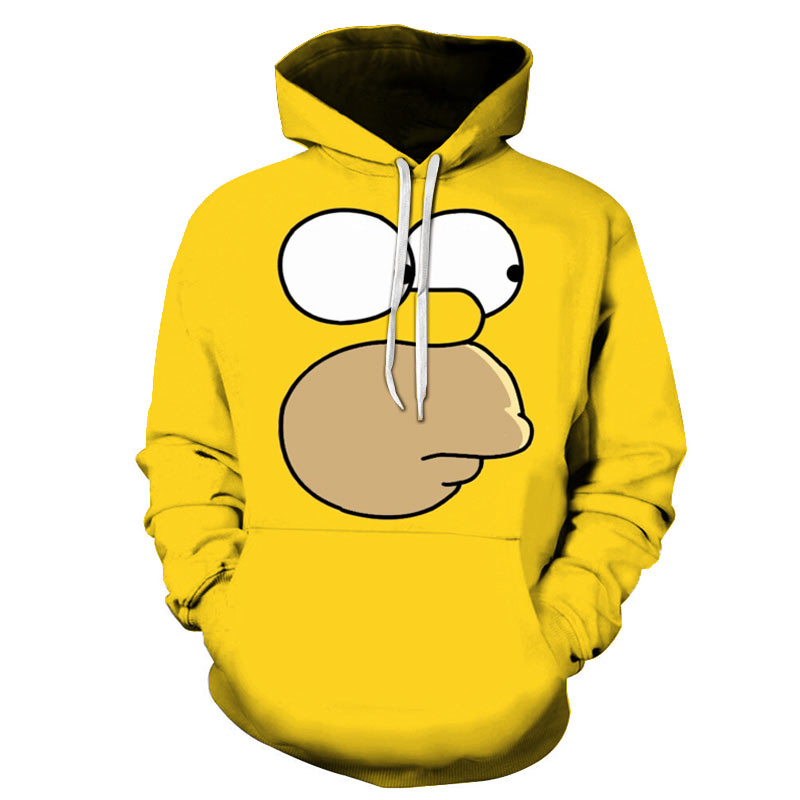 Fashion New 3D Printing Hoodie Simpson Wild Series Adult / Children Spring And Autumn Hoodie Asian Size / Can Be Customized