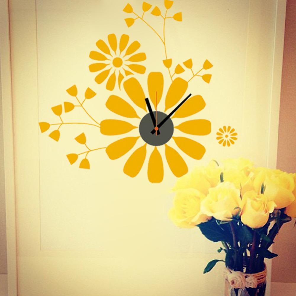 DIY classic Zooyoo brand Electronic battery yellow flower digital ...