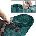 272L мешок для садовых отходов многоразового использования листьев травы лужайки бассейна садовые сумки RT99
