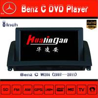 Windows Ce Car Dvd Player For Mercedes Benz C W204 With Gps Navigation