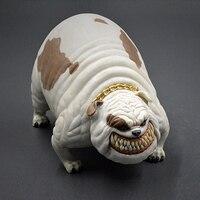 British Bulldog Dog Model Jewelry Resin Crafts Simulation Gift Car Home Decorations