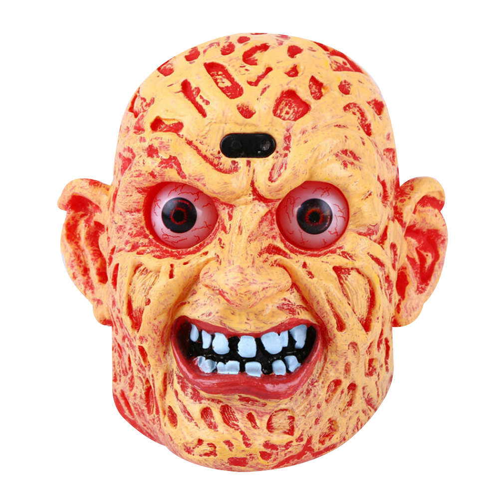 Funny Unique Scary Halloween Devil Head Decoration Voice