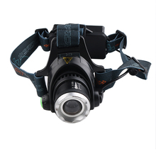 PANYUE 90 degree Adjustable Super Bright 1000LM XM-L T6 LED Head lamp Headlamp Headlight Zoomable Front Light 18650 Battery