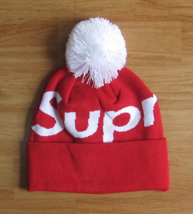 Men women winter knitted skullies   beanies cap with pom poms 06aa5f36057