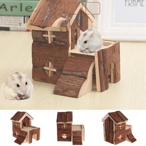 Small Pets Two Story Wooden Ho