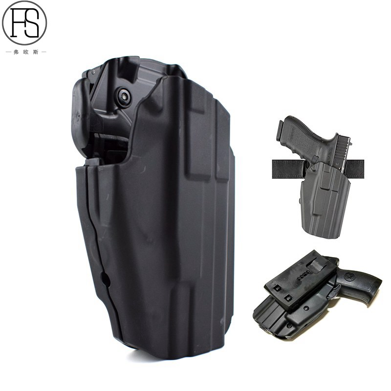 FS Tactical Hunting Holster Righthand Gls Pro fit Walther Ppq M2 9/40 Can  Fit 100 More Gun Type Same As RuoskyGear EM6482-in Holsters from Sports &