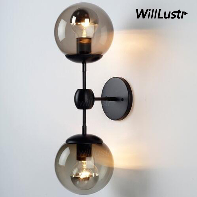 Superieur Modo Wall Lamp Modern Wall Sconce Modo Wall Light Glass Shade Lighting Modo  Ball Wall Lights