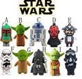 Star Wars Darth Mutilar/Vader/R2D2/Yoda USB Flash Drive/Disco U Creativo Pendrive/Memory Stick/Regalo 4 GB-64 GB S105 S205