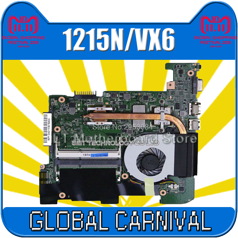 цена на 1215N Motherboard rev 1.4 For ASUS 1215N/VX6 Laptop motherboard 1215N Mainboard 1215N Motherboard test 100% OK