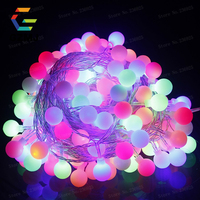 10m 80LED String Lights Waterproof Outdoor Pendant New Year/Christmas Xmas WeddingCurtain Decorations Holiday Fairy Lights H 11