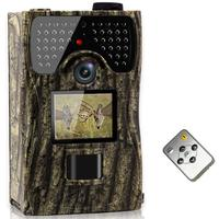 12MP Full HD 1080P Sensor Wildlife Hunting Camera 65ft Infrared Scouting Camera with Night Vision IR LED Waterproof 0.2s Trigger