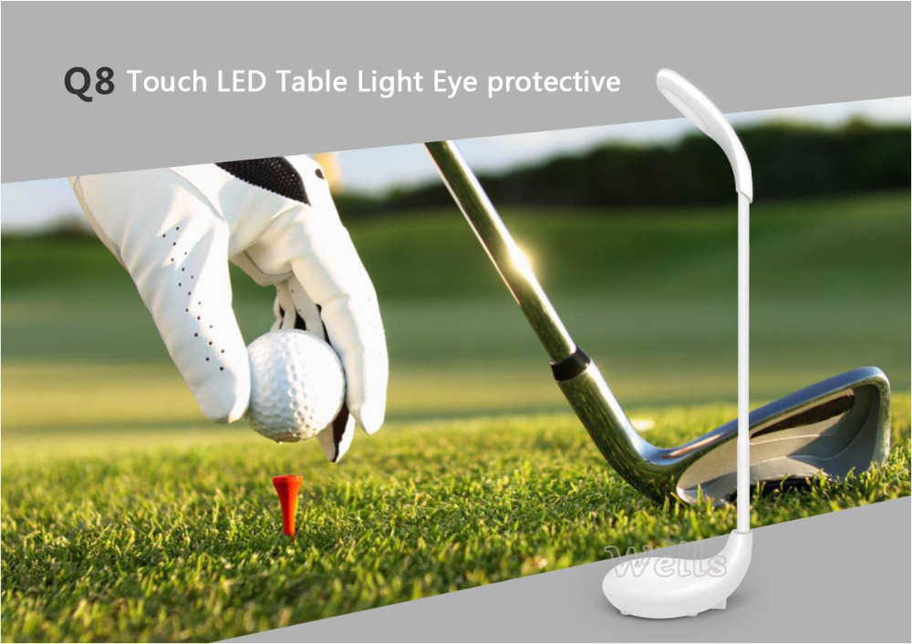 Led Lamp Touch Control Light Outdoor Flashlight Sos Usb
