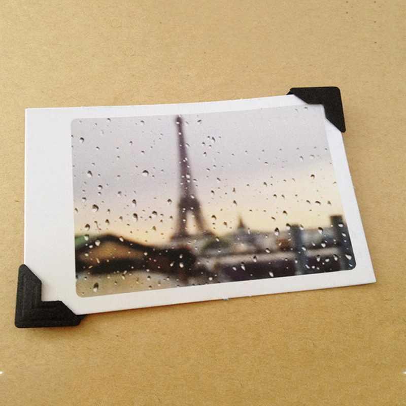 24 шт винтажный фото уголок скрапбукинга бумажная рамка для фотографий украшение Скрапбукинг DIY открытка Угловой протектор
