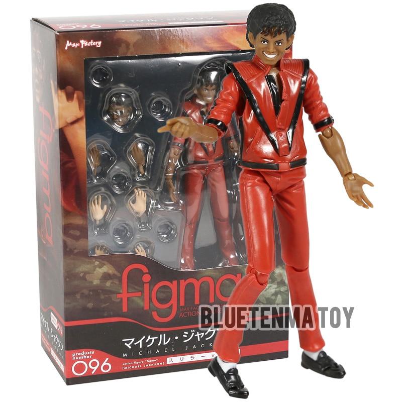 Figma 096 Michael Jackson MJ Thriller MV Ver PVC Action Figur Spielzeug IN BOX