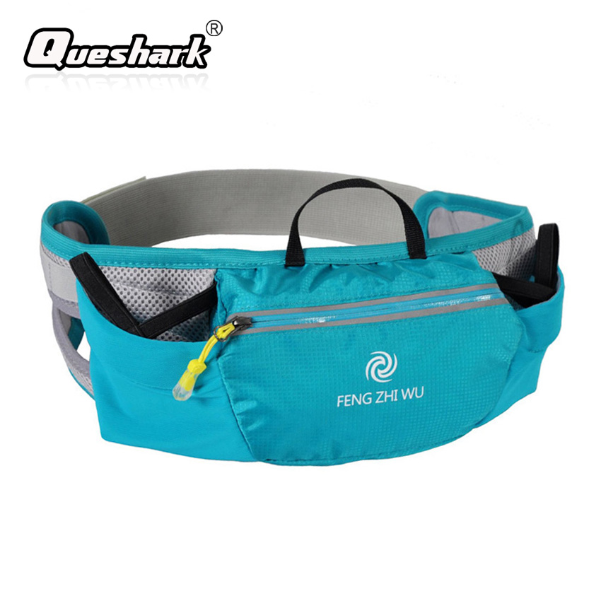 Multifunction Water Bottle Bag Running Waist Packs Relective Foldable Mobile Phone Belt Pouch Ultralight Portable Fitness Bag