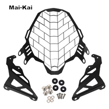 MAIKAI FOR For SUZUKI V-STROM 650XT 2017-2019 Motorcycle modification Headlight Grille Guard Cover Protector