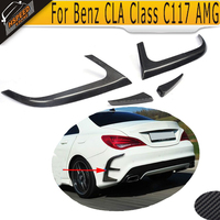 CLA Class Rear Bumper Vents Spoiler for Mercedes Benz W117 C117 2014 2015 4PCS CLA250 CLA260 CLA45 AMG
