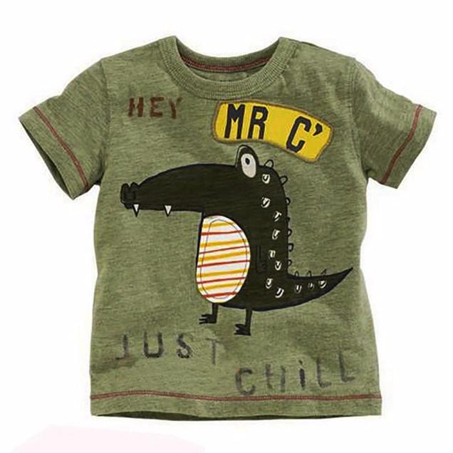 HTB1e106PXXXXXbKXXXXq6xXFXXXp - Little maven brand children clothing 2017 new summer baby boy clothes short sleeve t shirt Cotton crocodile print tee tops 50711