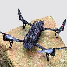 RCTimer Plegable AC-BEE 470mm Marco de Fibra de Carbono de 2212 Kits con AP con BEC y LED AC-BEE-2212