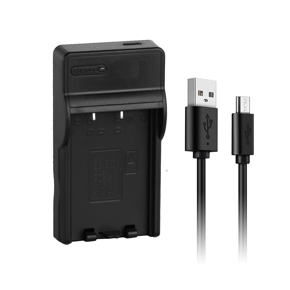 BLS-5 USB Charger For Olympus E-PL1s E-PL2 E-PL5 E-PL6 E-PL7 E-PL8 E-PM2 E-M10 Mark II III  Stylus 1s Camera Battery Charger