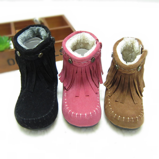 Compare Prices on Winter Fringe Boots Girls Winter- Online ...