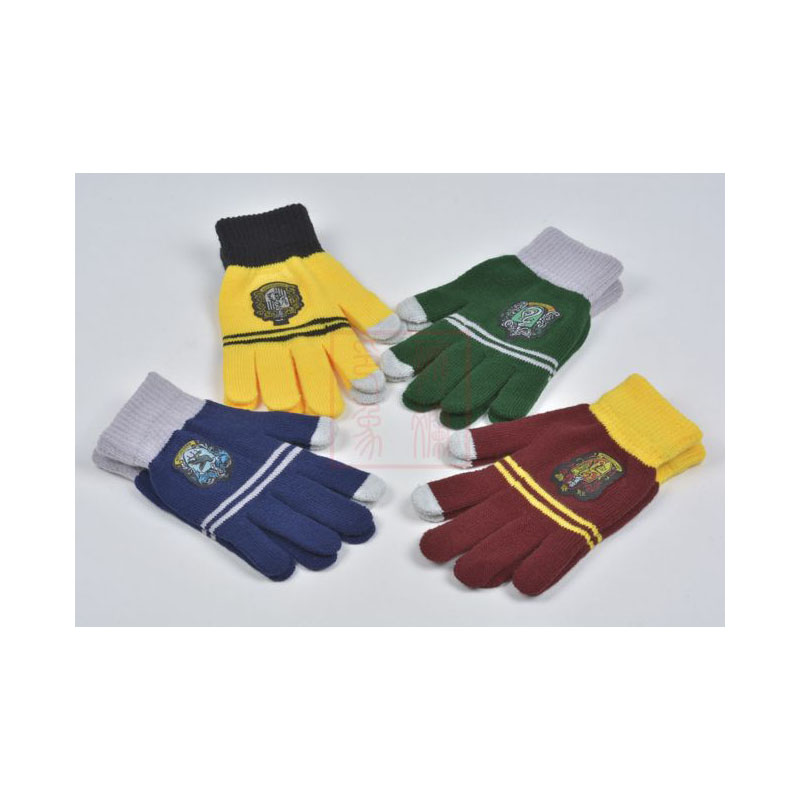 Harriy Potter College Touch Gloves Winter Warm Thicken Gryffindor Touch Screen Gloves Children's Day Gifts Cosplay Accessories