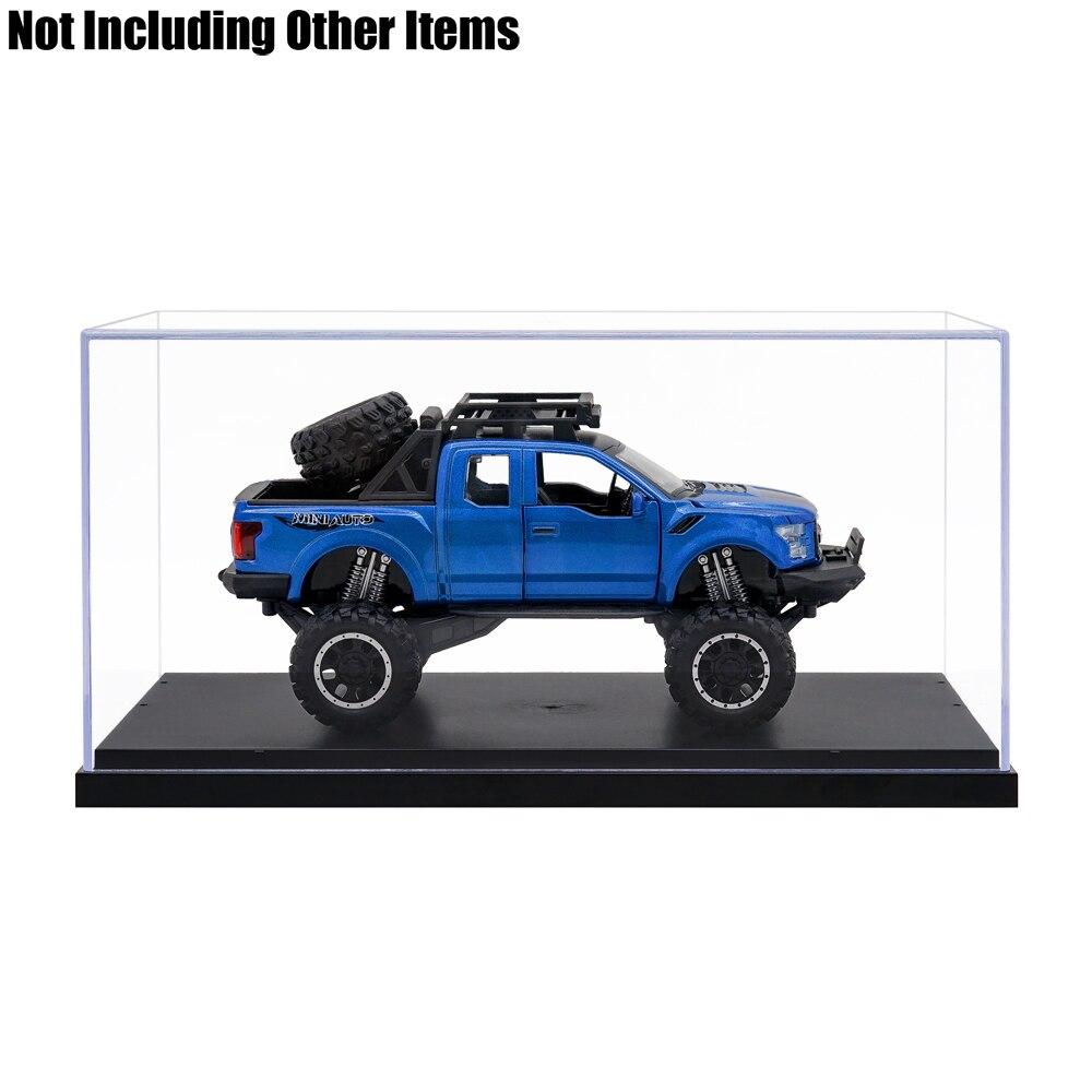 US Clear Acrylic Plastic Base Display Case Perspex Box Dustproof 3Steps Big Size