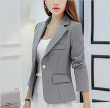 THYY 2018 Short Solid Spring Autumn Coat Blazer Women Suit Ladies Refresh Blazers Comfortable Women's Blazers Free Shipping A764