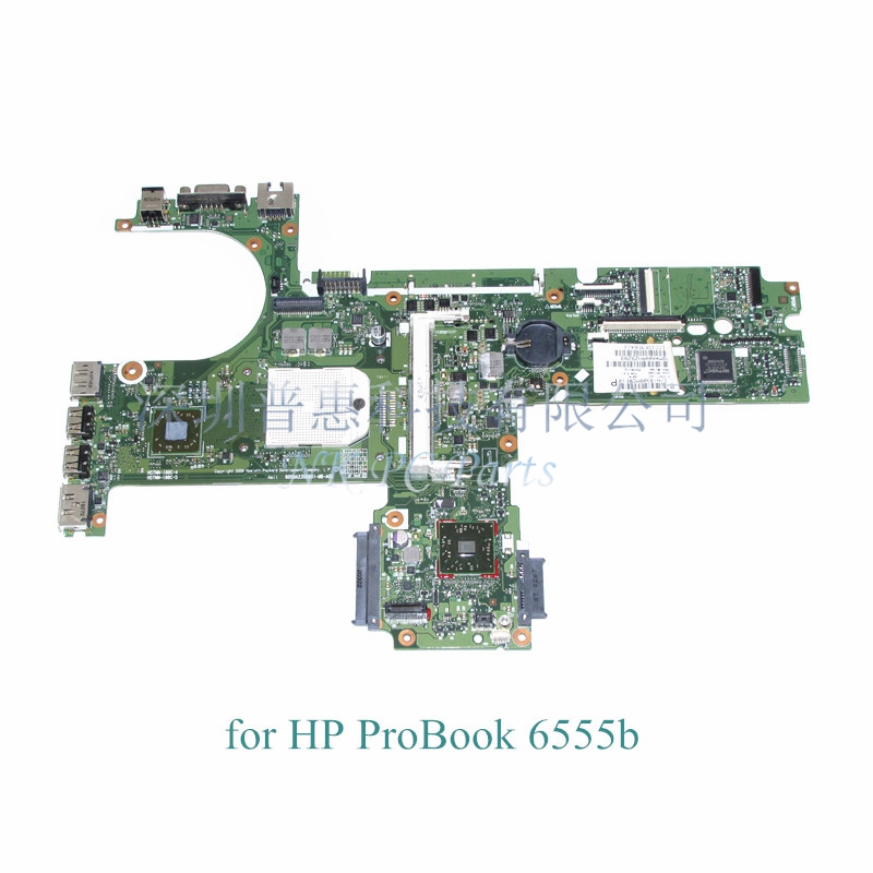 Laptop motherboard for Hp probook 6455B 6555B Main board / System board DDR3 Socket s1 613397-001 645386 001 laptop motherboard for hp dv7 6000 notebook pc system board main board ddr3 socket fs1 with gpu