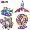 Becky bloque magnético 78 unidades y más 3D edificio magnético emparejado ladrillos de juguete regalo de año nuevo a los niños