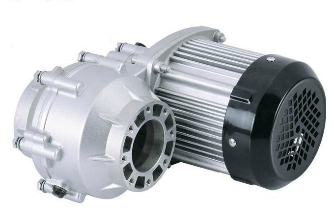 Бесщеточный мотор 1000 Вт 1200 Вт, постоянный ток 48 В/60 в, электродвигатель для велосипеда, BLDC, дифференциальный мотор редуктор, BM1412HQF