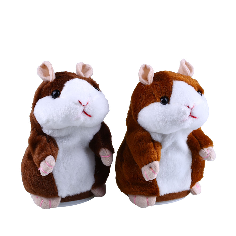 Free Shipping Talking Hamster Speak Talk Sound Record Repeat Stuffed Plush Child Toy talking hamster speak talk sound record repeat stuffed plush animal child toy