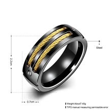 New Arrival Titanium Steel Couple Ring Fashion Design Ring for Men and Women Popular Jewelry High Quality