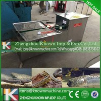 Factory supply automatic under 6cm wide available little fish cutting machine with CFR price for sale by sea