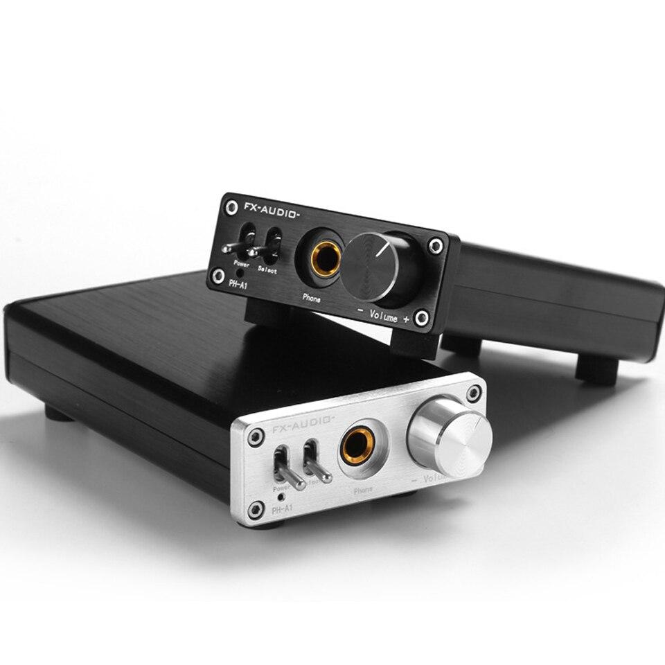 все цены на 2017 New FX-Audio PH-A1 HiFi Portable Mini Audio HOME Amplifier TPA122 Digital Audio Decoder 150mW+150mW 16-400ohms Headset онлайн