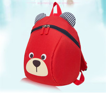Cute Aresland New Printing bear Backpack Rucksack Kindergarten School Student Bag for Boys Girls Kids children backpack Toddlers