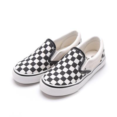 Children Canvas Shoes Boys Sneakers Breathable 2018 Spring Autumn New Fashion Girls Casual Shoes Kids Lattice Cloth Latest Technology Children's Shoes Sneakers