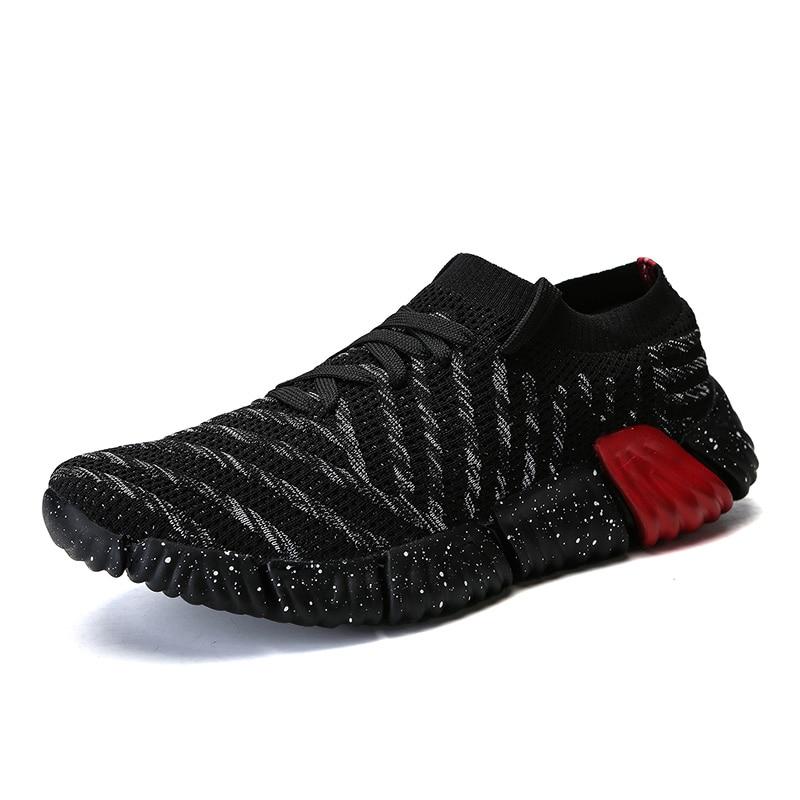 b87cf653 2019 nuevos hombres de la moda Zapatos casuales zapatos de la malla de luz  transpirable Krasovki hombres zapatillas de deporte de marca de verano  hombre ...