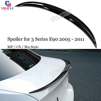 E90 Carbon Fiber M3 M4 M Performance CS Style Rear Spoiler Wing for BMW 3 Series E90 & E90 M3 Sedan 2005   2011 325i 328i 330i|Spoilers & Wings|Automobiles & Motorcycles -