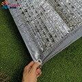 <font><b>Tewango</b></font> Серебряная сетка для теней 90% УФ-блок алюминиевая фольга сетка растения покрытие наружное отражающее солнце свет 2x4 м
