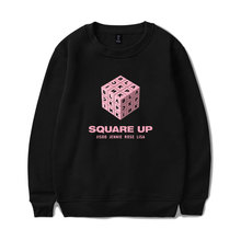 LUCKYFRIDAYF New Blackpink Capless Sweatshirt Women Hip Hop Fashion Hoodies Sweatshirts Famous Kpop Clothes
