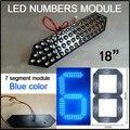 """12 В светодиодный модуль, включает 7 сегмента, сид цена на газ признаки части, 18 """"синий цвет digita модуль числа,"""
